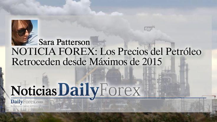 NOTICIA FOREX: Los Precios del Petróleo Retroceden desde Máximos de 2015 https://espaciobit.com.ve/main/2017/12/27/noticia-forex-los-precios-del-petroleo-retroceden-desde-maximos-de-2015/ #Forex #DailyForex