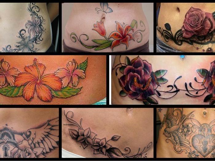 Resultado de imagen para tatuajes de en la barriga para mi mama