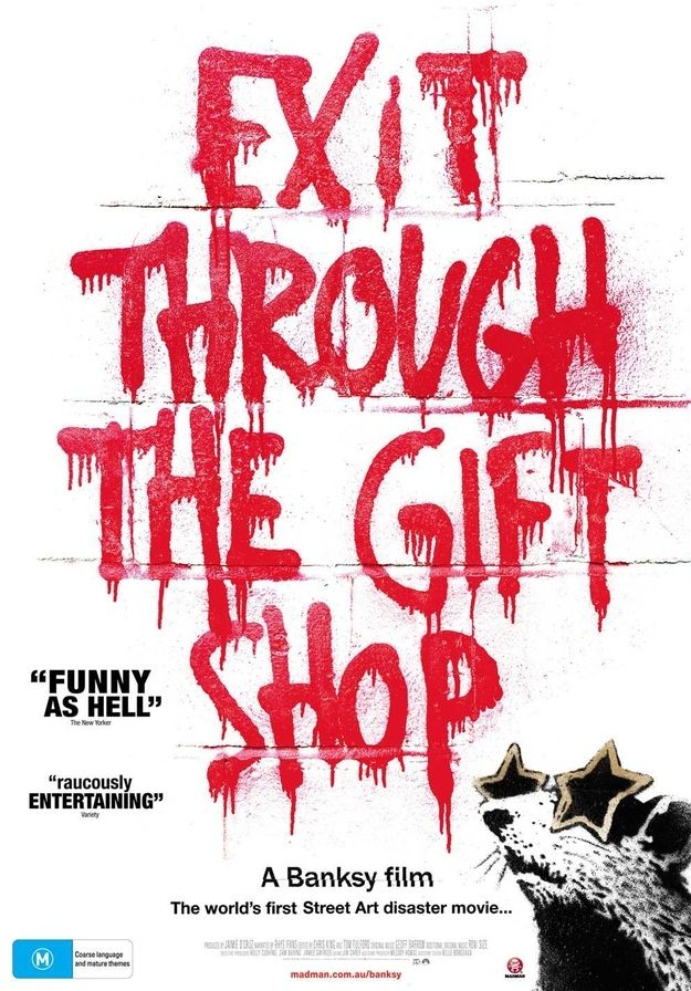 Exit Through The Gift Shop (2010) / 12 Documentaries That Embrace The Art Of Design (via BuzzFeed)