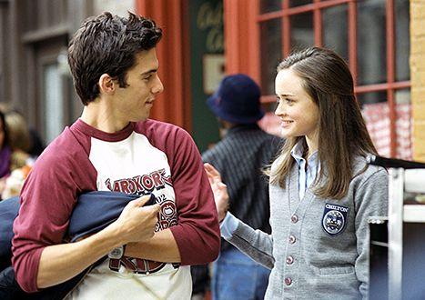 Milo Ventimiglia and Alexis Bledel in Gilmore Girls