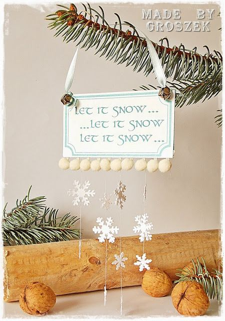 Made by Groszek: Let it snow...