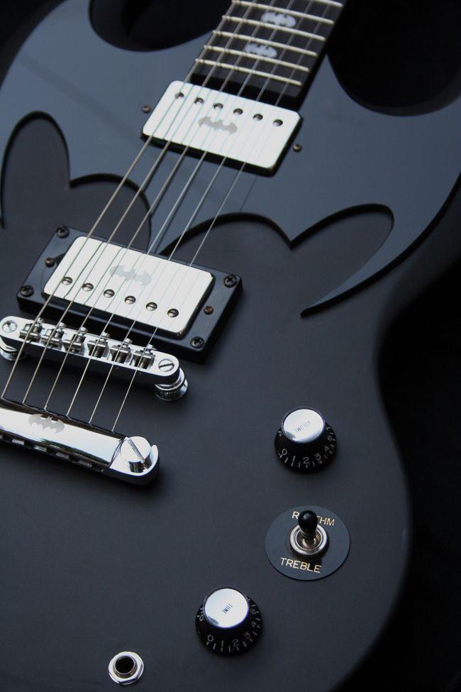 SG Batman Guitar.