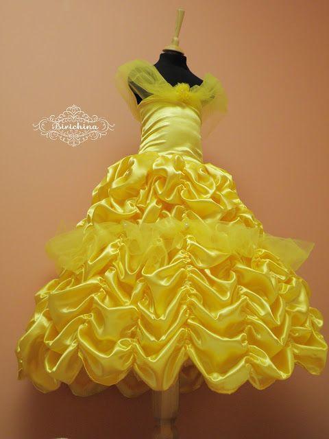 Лесина берлога: Карнавальный новогодний костюм принцесса Белль
