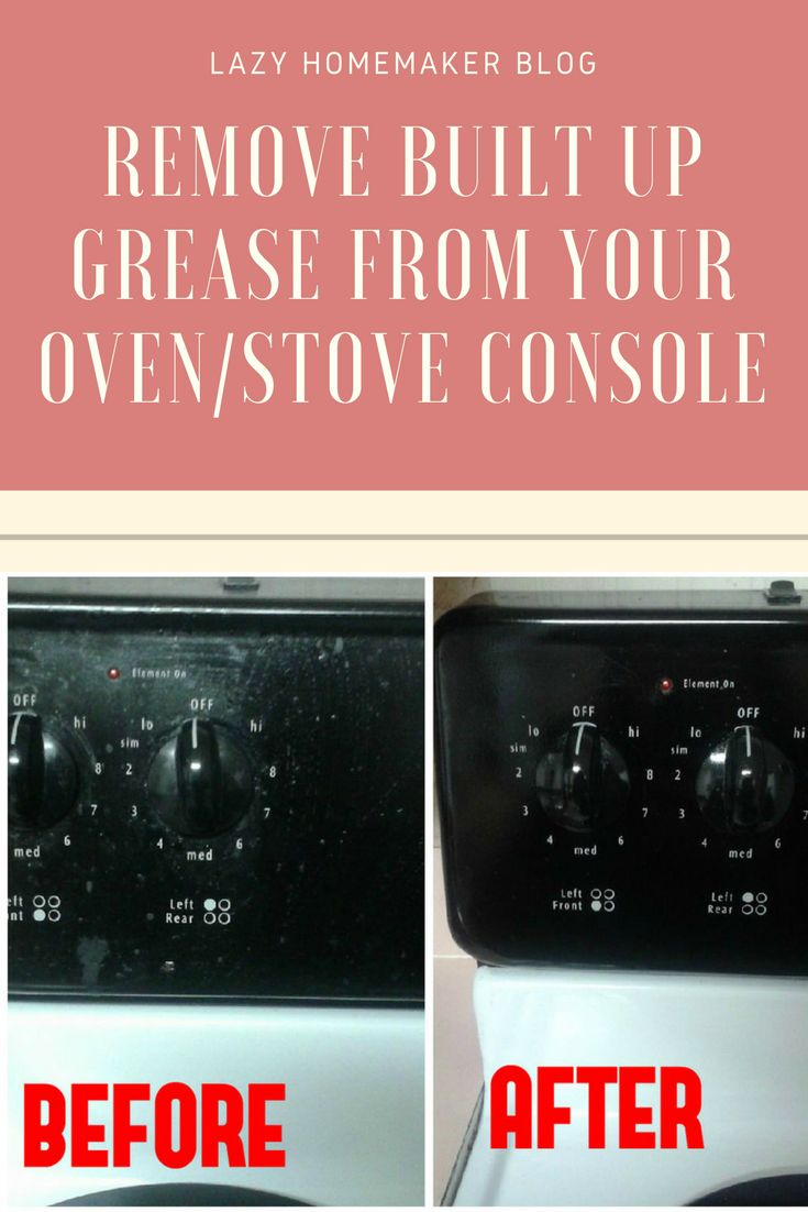 how to get rid of oven grease