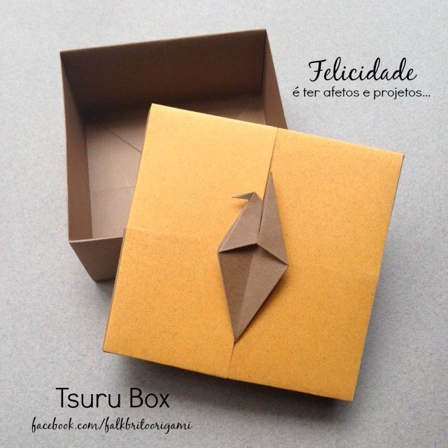 Tsuru Box Origami - Pic only.