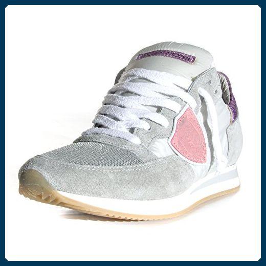 Philippe Model  TRLD WX24, Damen Sneaker Grau Grey/Pink, Grau - Grey/Pink - Größe: 37 - Sneakers für frauen (*Partner-Link)