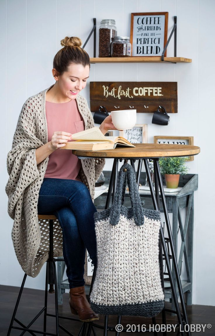 Crochet yourself a warm winter wardrobe with I Love This Wool Naturals!