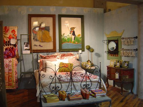 """""""Fairy Tale Bedroom"""" by Adorevintage, via Flickr (at Anthropologie)"""