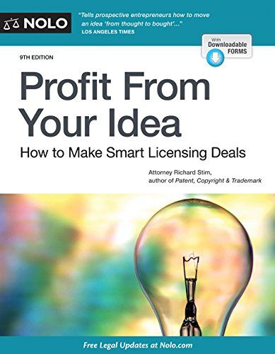 192 best ebooks free ebooks download images on pinterest free profit from your idea how to make smart licensing deals 9th edition pdf download e fandeluxe Images
