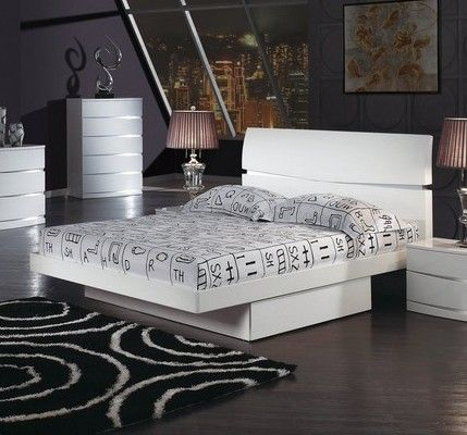 Superb Global Furniture Master Bedroom Set GL AURORA WH
