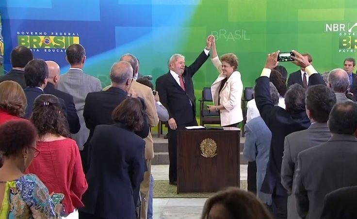 lula e dilma - posse     Attention! Coup Attempt in Brazil!  TEMOS,NO BRASIL,UMA IMPRENSA TRABALHANDO ATIVAMENTE  CONTRA A DEMOCRACIA!   UMA IMPRENSA, LIVRE, NA PRÁTICA DO GOLPE DE ESTADO. UMA IMPRENSA LIVRE LEVANDO O PAÍS AO CAOS Attention! Coup Attempt in Brazil! Compartilem!!! Divulguem!!! Brasileiros pela Democracia, pelo Brasil, pelos brasileiros!  *** #DilmaTiraAVerbaDaMídiaTécnica! #OQueÉBomPraTvGloboNãoÉBomParaOBrasil, disse Brizola, comenta…