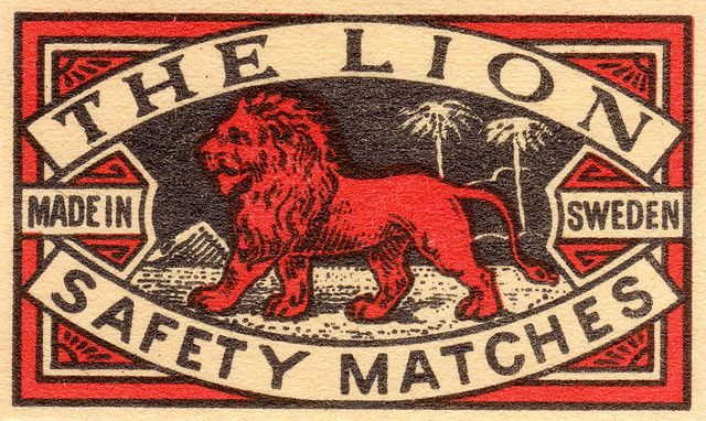 The Lion - such a big south african brand funny to see its made in sweden