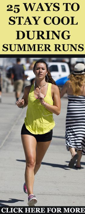 Here are 25 ways to help you stay cool when running in the heat, helping you…