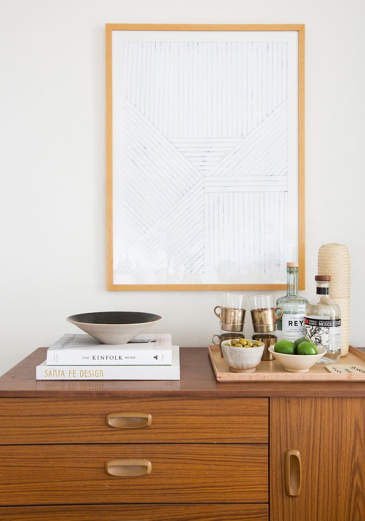Mels Living Room Reveal Art Print Silkebonde
