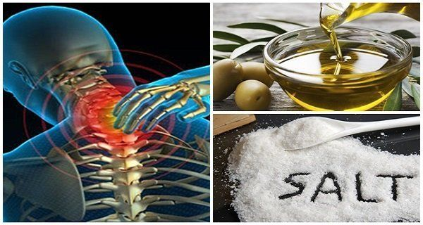 Ανακατέψτε λίγο αλάτι με ελαιόλαδο και δεν θα αισθανθείτε πόνο για τα επόμενα 5 χρόνια!