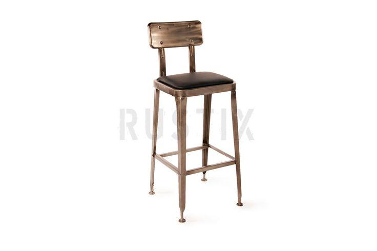 ROBOT INDUSTRIAL bar stool from Rustix Furniture
