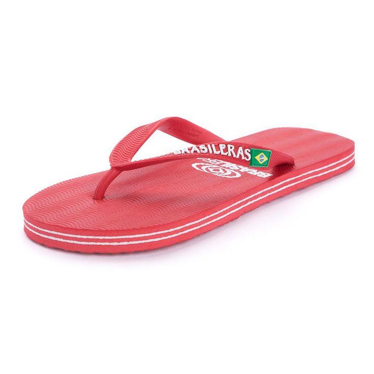 Sandalias de Goma Brasileras Adultos - Las mundialmente famosas sandalias de la marca BRASILERAS, tan reconocibles para ir a la moda y cómodas para el verano. #chinelos #flipflops #tongs