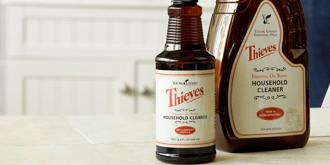 Non-Toxic Cleaning With Thieves Household Cleaner