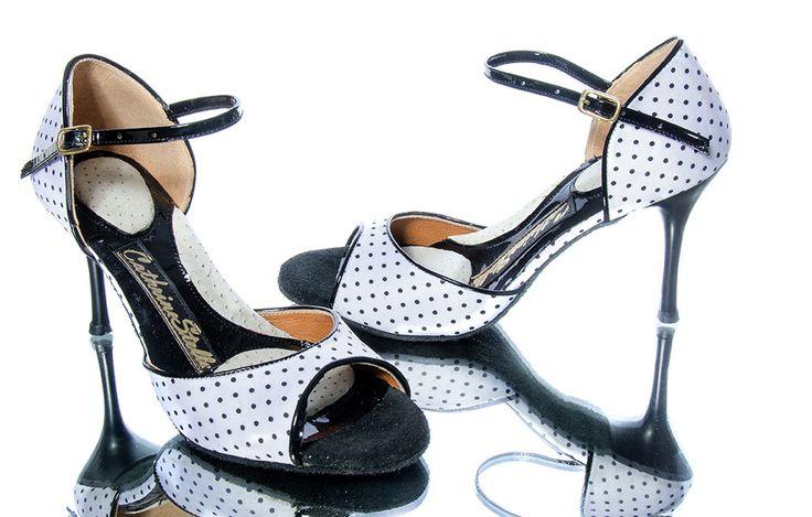 Handmade Tango  Shoes for Latin for Woman Χειροποίητα Τάνγκο γυναικεία παπούτσια- Heraki.gr