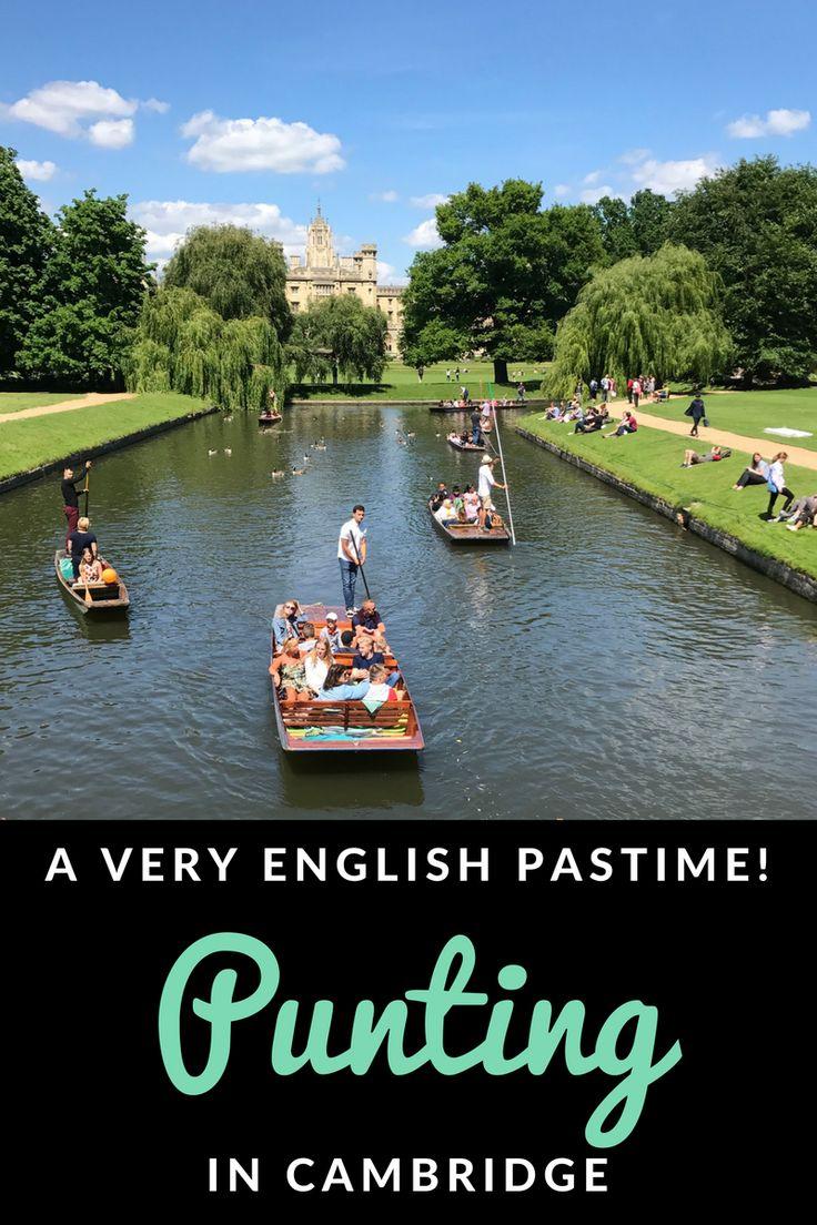 #Cambridge England | #Punting Cambridge | United Kingdom | English heritage | British summer #cambridgeshire #britishsummer #unitedkingdom #england