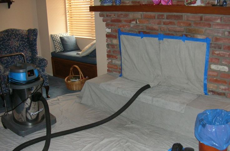 Method of Fireplace Cleaning