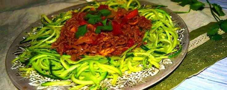 Healthy Spaghetti Bolognese by MyNutriCounter