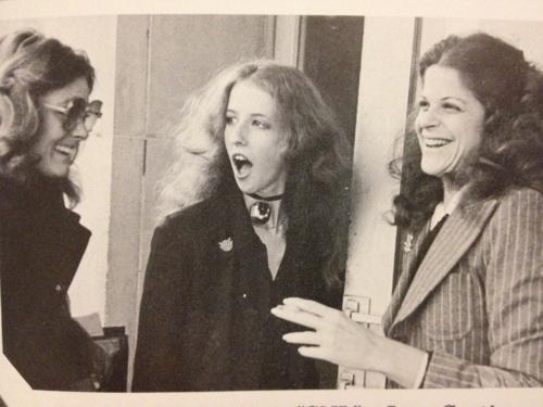Jane Curtain, Laraine Newman, and Gilda Radner, Roseann, Roseannadana