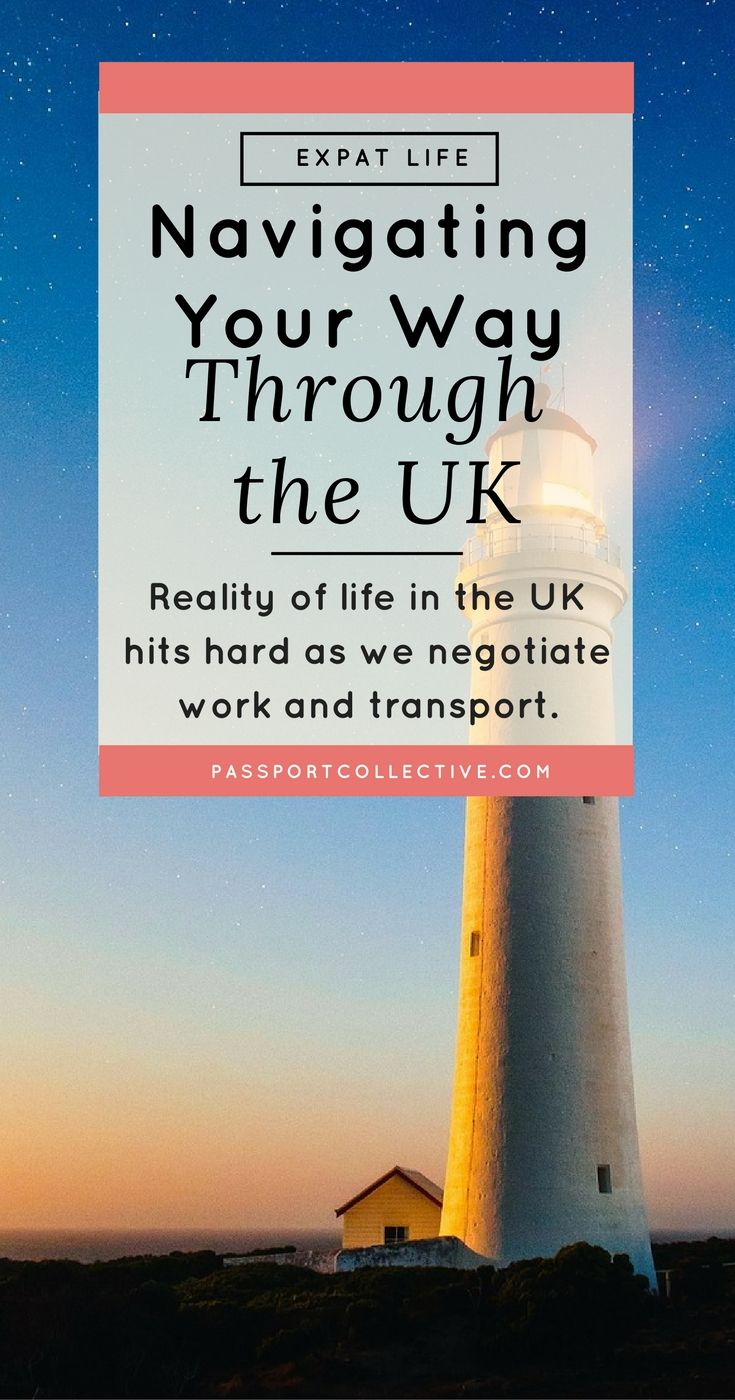 UK, England - The reality of life in the UK hits hard as we negotiate work and transport. A relatable tale for anyone who has ever moved overseas or lived in England.