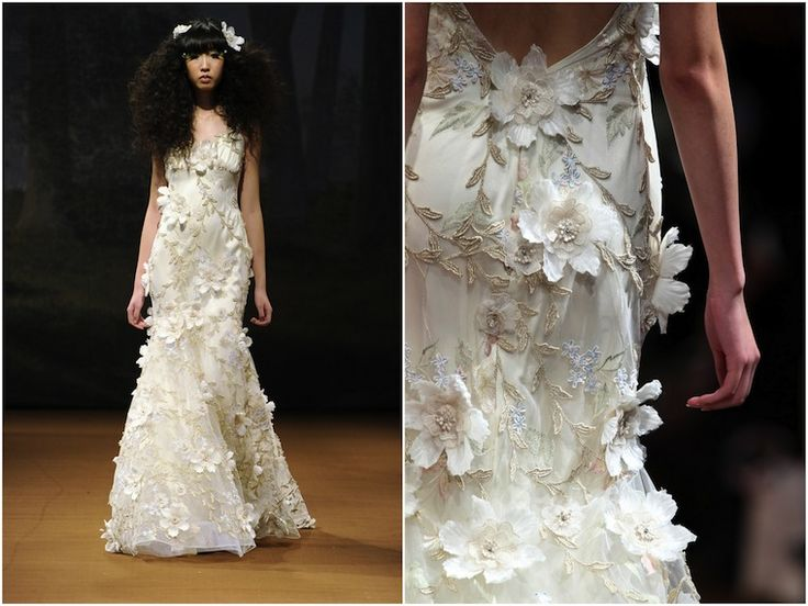 Claire Pettibone 'Flora'  Love love love this  dress