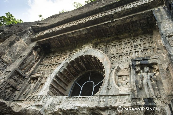 The Ajanta caves near Aurangabad are listed as a UNESCO world heritage site.