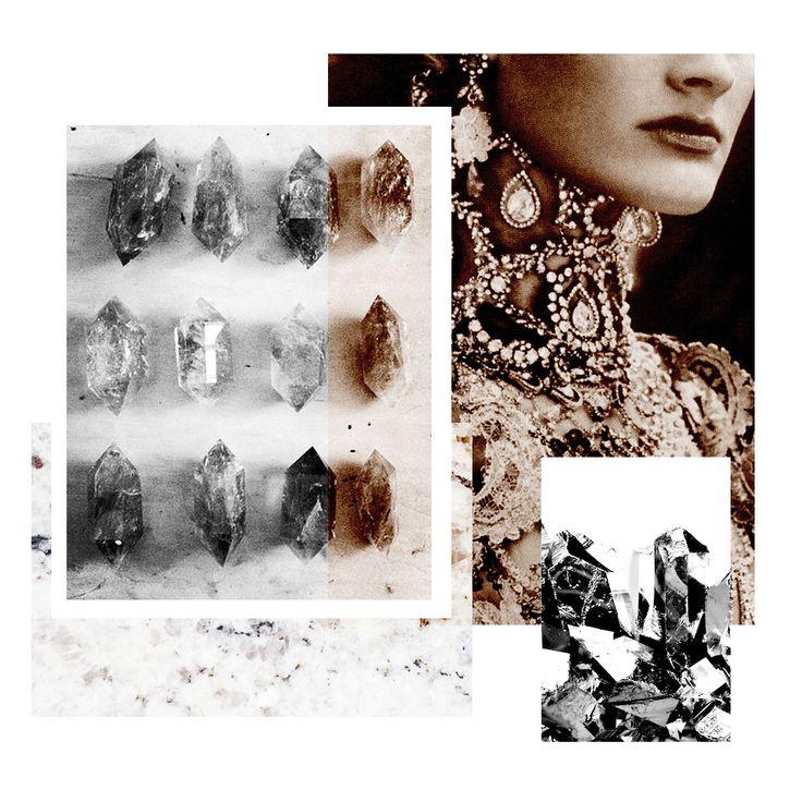 #veronikamaine #jewellery #crystal #rosegold