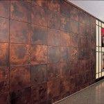 錆を活かした金属タイル・金属シート(銅いぶし、緑青、真鍮)|テイル株式会社