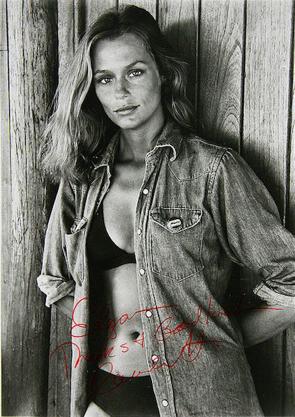 Lauren Hutton, via slufoot