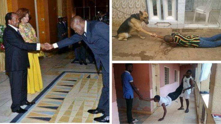 #CourberDosChallenge : dérision et satire politique au Cameroun