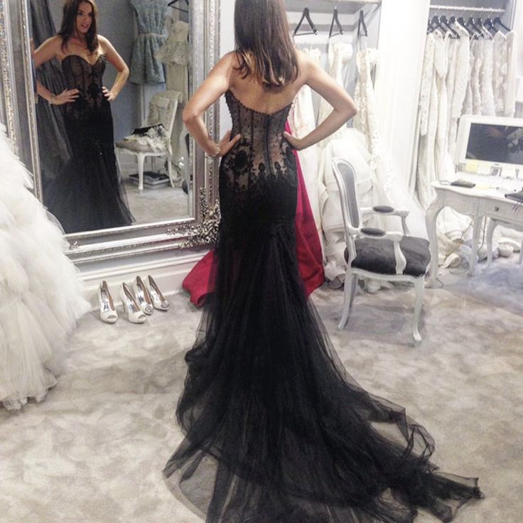 Cheap dress up games wedding dress, Buy Quality dress up black dress directly from China dress swimsuit Suppliers: 2017 New Sweetheart Mermaid Floor Length Lace Wedding Dresses Tulle Bridal Gowns High Quality Wedding Dress Black newest Wedding