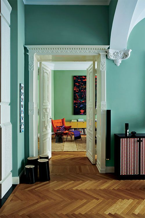 Hall Way Wall Paint Colour Decor Designs Furniture Inspiration