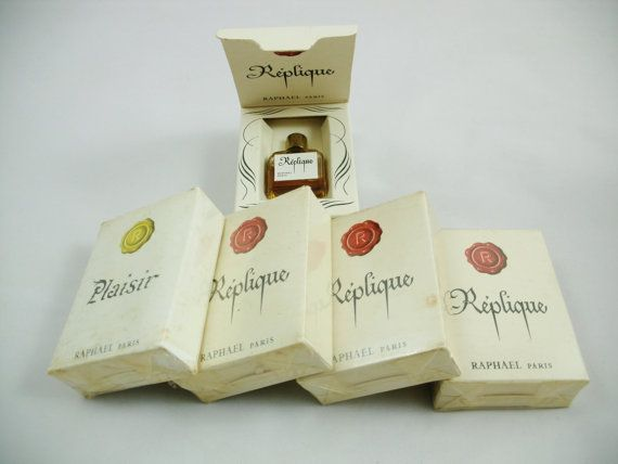 Raphael Replique and Plaisir Perfumes 5 by SuzquisTreasures
