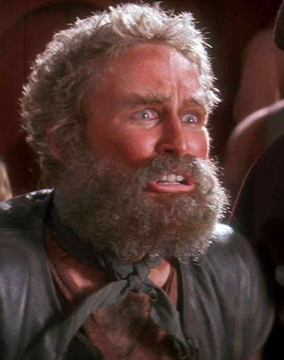 Glenn Close as Gutless the Pirate in 'Hook' (1991)