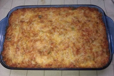 Super yummy unstuffed pepper casserole from Freeze Your Way Fit.