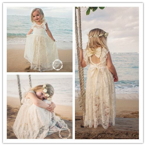 Toddler flower girl dresses for beach wedding wedding for Flower girl dress for beach wedding
