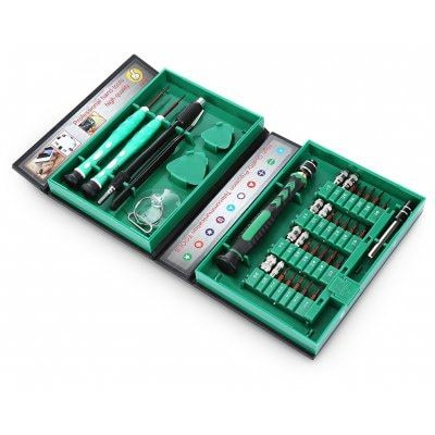Just US$9.99 + free shipping, buy AC - 8 38 in 1 Screwdriver Kit for Repair / Maintenance online shopping at GearBest.com.