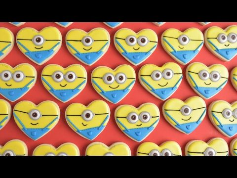 17 Best Ideas About Minion Cookies On Pinterest Minion