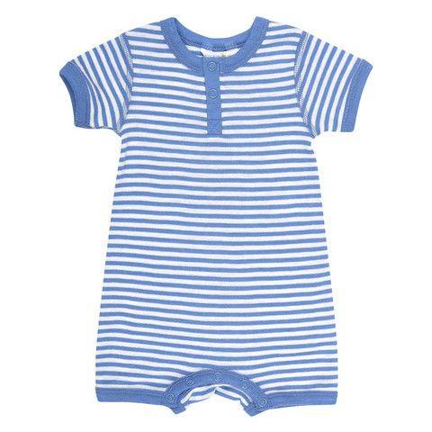 Blå sommerdragt i sommeruld | Joha | Uldbørn.dk | uldbørn