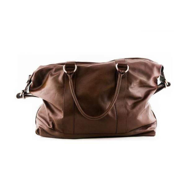 Leather Weekend Bag by ARTILLERYLANE - Made in Italy