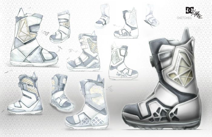 DC Shoes - Travis Rice Snowboard Boots by Kevin Becker at Coroflot.com