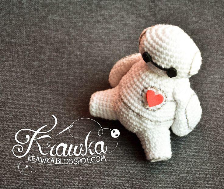 Small Baymax Amigurumi Pattern : Krawka: Big Hero 6 - Baymax free crochet pattern ...