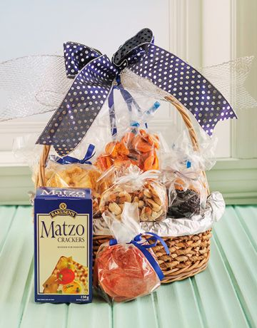 Passover Matzo Bread, Fruit & Nuts Gift
