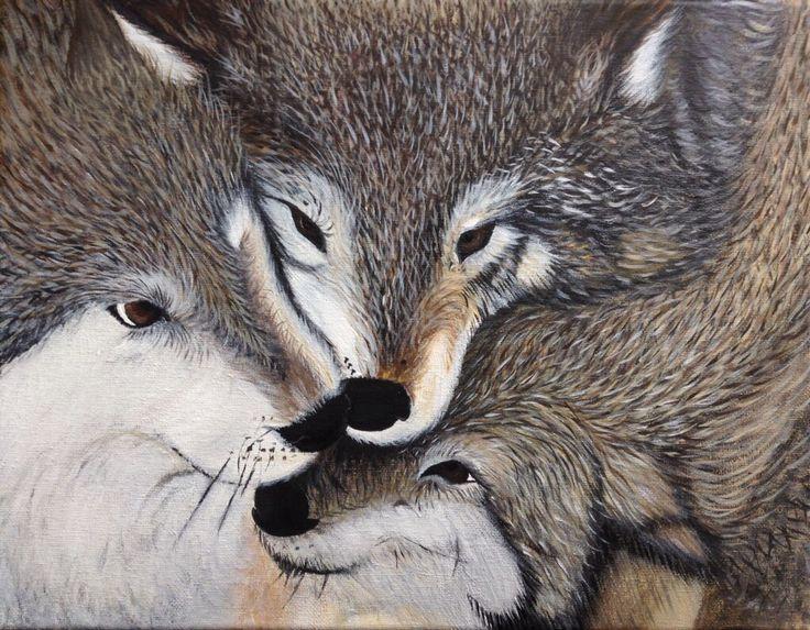 My wolfs by Megan Beland