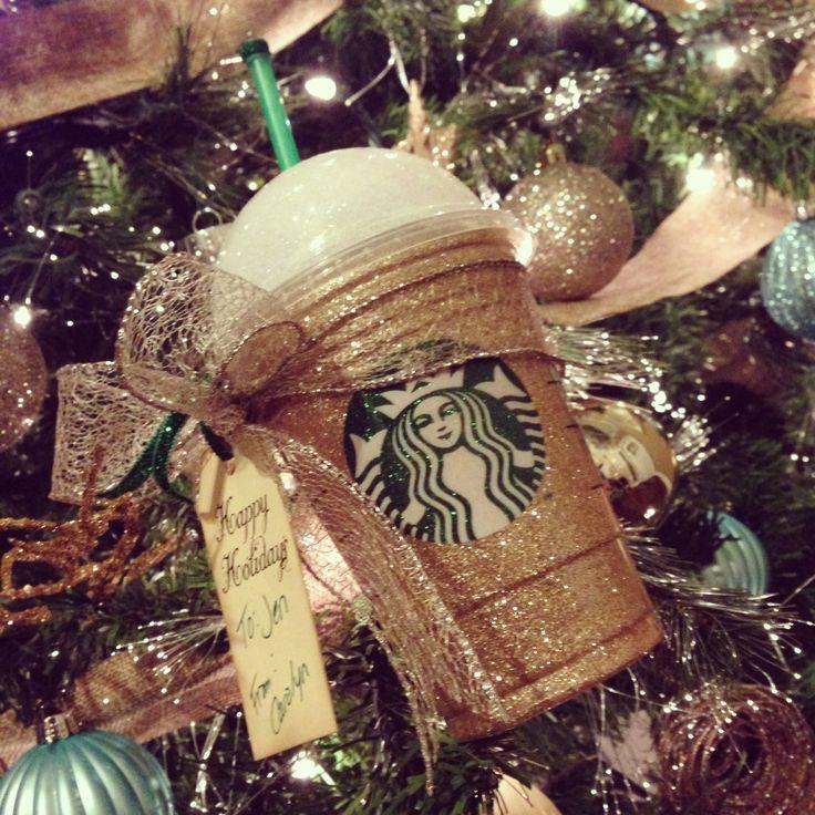 The 25 best starbucks gift ideas ideas on pinterest good secret starbucks gift card holder idea glitter cup with bow and tag starbucks loves negle Gallery