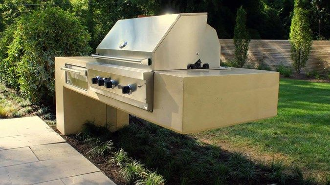 Cantilever Bbq Outdoor Kitchens Hyde Concrete Annapolis, MD